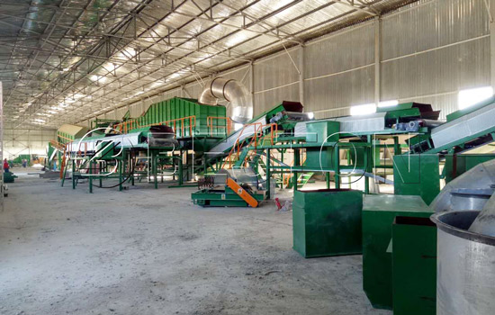 Beston waste sorting plant installation was finished in Uzbekistan.